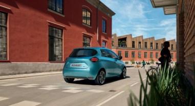 Renault Zoé 2019 arrière feux dynamique
