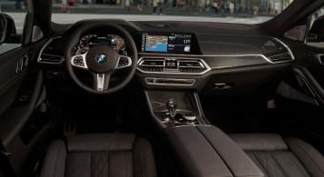 BMW X6 2019 intérieur volant écran combiné sièges
