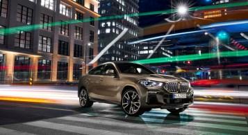 BMW X6 2019 statique jantes profit gris calandre