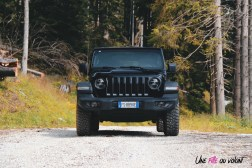 Jeep Wrangler Unlimited Rubicon 2019 face avant calandre statique