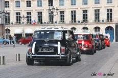 Traversée de Paris 2019 Mini Mini's Addict Place vendôme anciennes