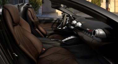 Ferrari 812 GTS 2019 intérieur sièges