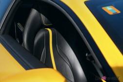 Road-Trip Ferrari Paris-Mulhouse 812 Superfast intérieur siège détail