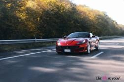 Road-Trip Ferrari Paris-Mulhouse Portofino dynamique