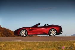 Road-Trip Ferrari Paris-Mulhouse portofino profil jantes cabriolet