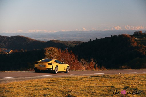 Road-Trip Ferrari Paris-Mulhouse 812 Superfast V12 jaune