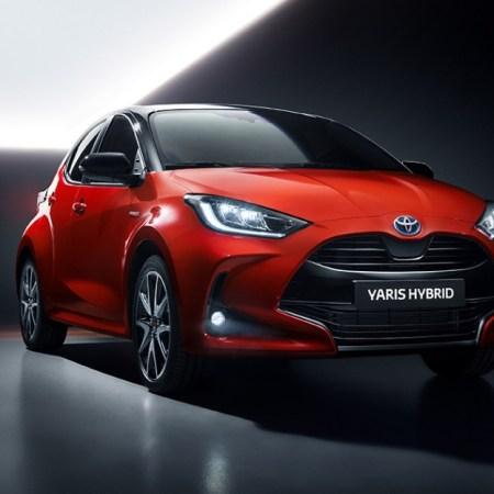 Toyota Yaris 2019 face avant calandre feux