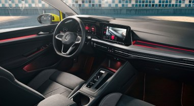 Volkswagen Golf 2019 intérieur volant écran combiné