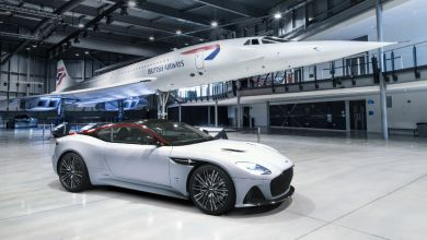 Photo of L'Aston Martin DBS Superleggera rend hommage au Concorde