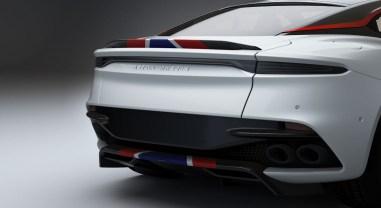 Aston Martin DBS Superleggera Concorde Special Edition 2019 bouclier diffuseur aileron détail