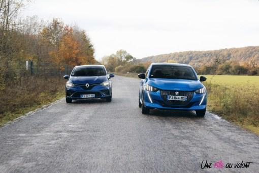 Comparatif Peugeot 208 Renault Clio 0199