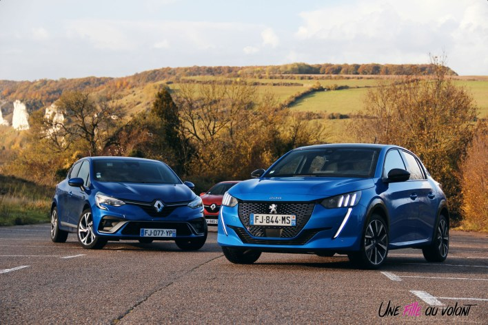 Comparatif Peugeot 208 Renault Clio 0215