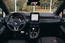 Comparatif Renault Clio 0185 volant écran combiné intérieur