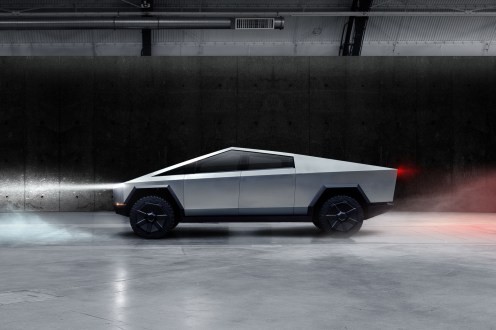 Tesla Cybertruck 2019 pick-up profil