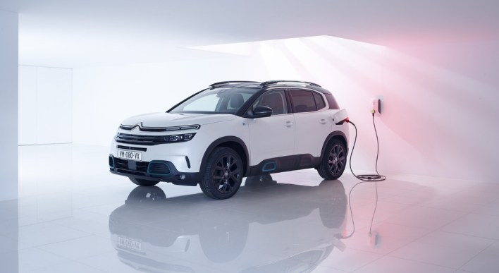 Citroën C5 aircross hybride rechargeable 2019