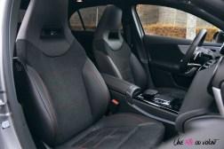 Essai Mercedes Classe A intérieur sièges avant