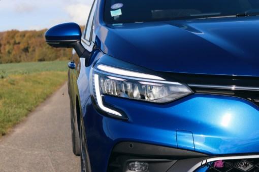 Photo essai Renault Clio 5 2019 feux avant
