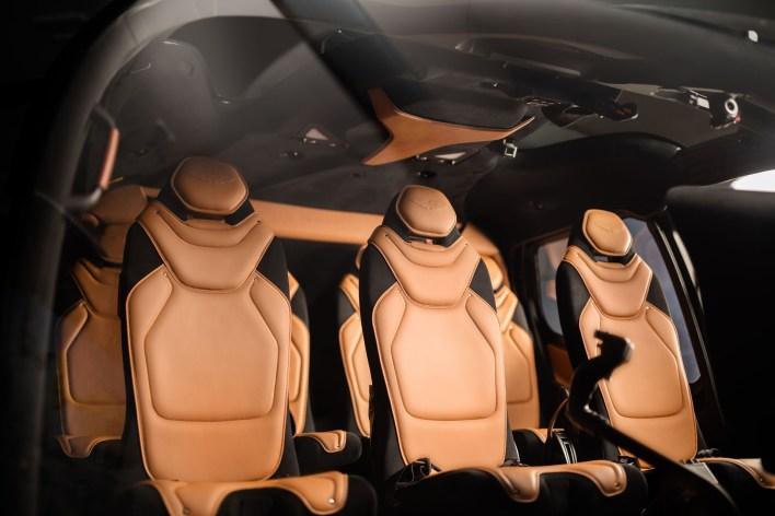 Airbus ACH130 Aston Martin Edition interieur sieges