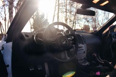 Photos Essai Nissan 370Z 50me anniversaire interieur volant