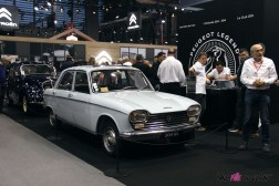 Photos Rétromobile 2020 Peugeot 204