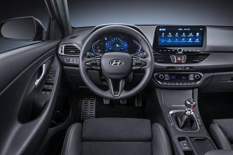Photos Hyundai i30 restylŽe 2020 intŽrieur volant Žcran