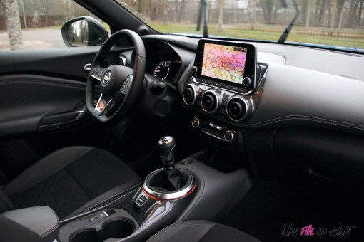 Photos essai Nissan Juke 2020 intŽrieur