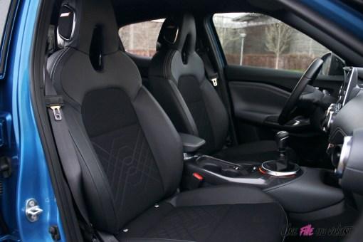 Photos essai Nissan Juke 2020 intŽrieur siges avant