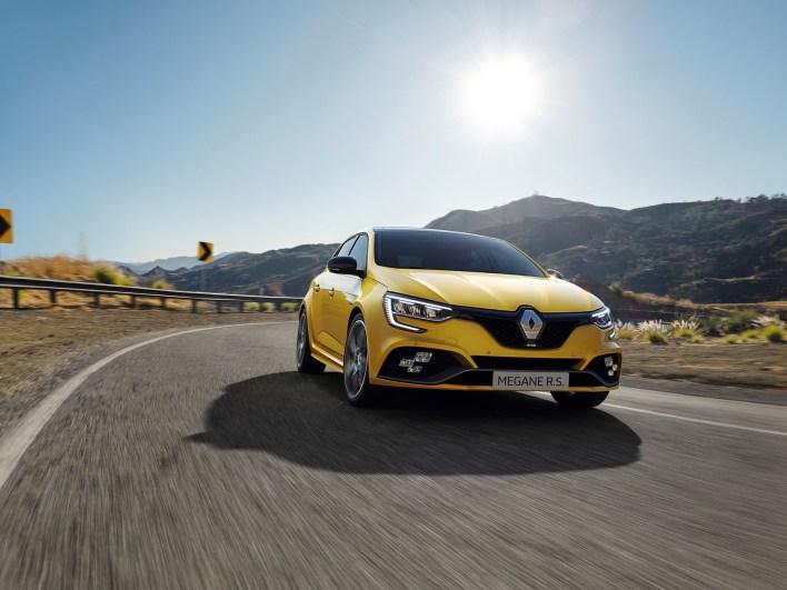 2020 – Nouvelle Renault MEGANE R.S. Trophy