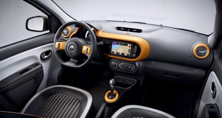 Photos Renault Twingo Z.E. 2020 intŽrieur Žcran