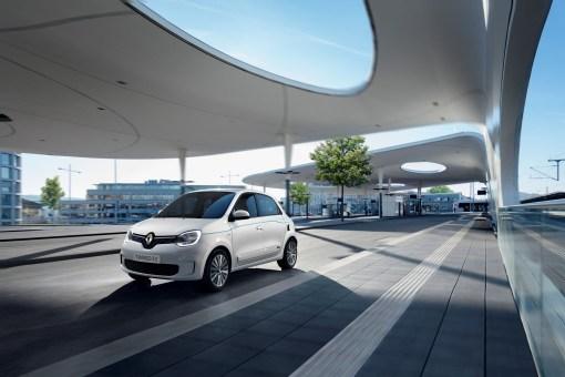 Photos Renault Twingo Z.E. 2020 citadine Žlectrique face avant