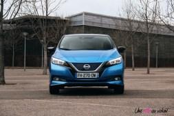 Photos essai Nissan Leaf e+ 2020 face avant statique