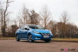 Photos essai Nissan Leaf e+ 2020 Bleu Topaze