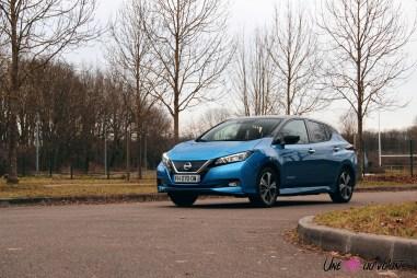 Photos essai Nissan Leaf e+ 2020 statique