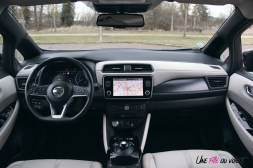 Photos essai Nissan Leaf e+ 2020 intŽrieur volant Žcran