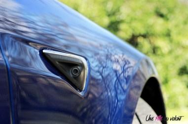 Photos essai Tesla Model S Grande Autonomie 2020 camŽra
