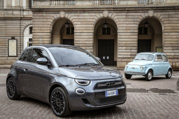 Photos Fiat 500 électrique 2020 nuova 500