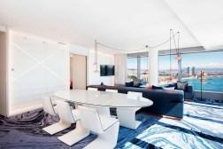 Photos hotel W Barcelona suite wow salle ˆ manger