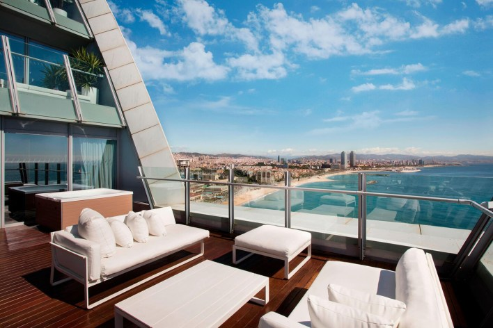 Photos hotel W Barcelona terrasse suite