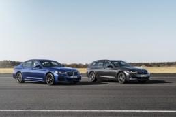 Photos BMW Serie 5 restylee 2020 berline et touring