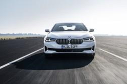 Photos BMW Serie 5 restylee 2020 face avant