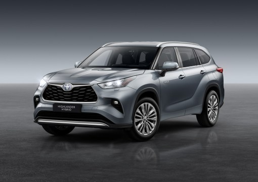 Photos Toyota Highlander Hybride 2020 face avant