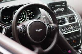 Photos essai Aston Martin DB11 volant