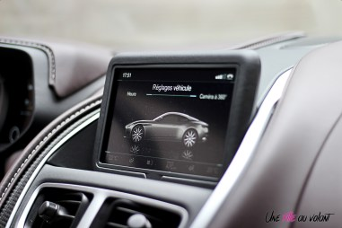 Photos essai Aston Martin DB11 Žcran tactile