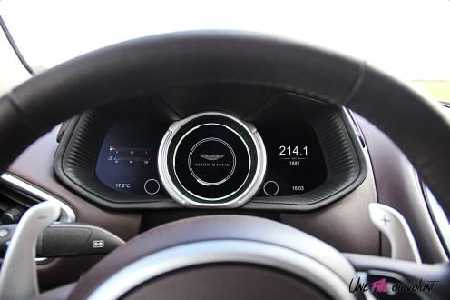 Photos essai Aston Martin DB11 instrumentation numŽrique