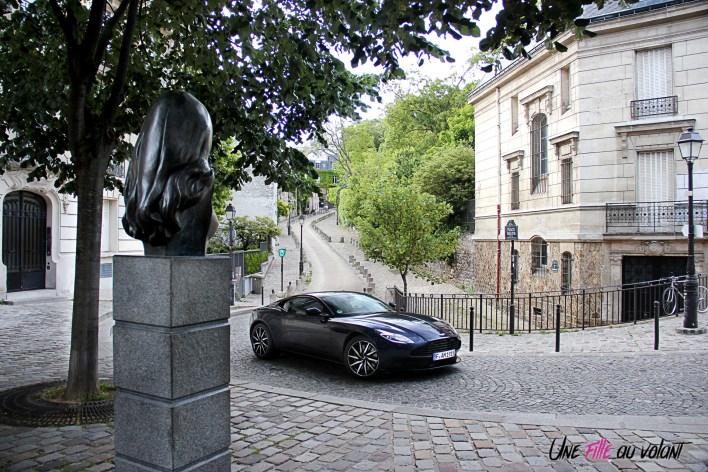Photos essai Aston Martin DB11 coupŽ bleu