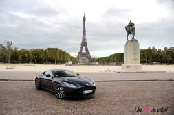 Photos essai Aston Martin DB11 Tour Eiffel