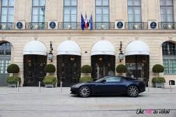 Photos essai Aston Martin DB11 profil Ritz