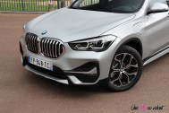 Photos essai BMW X1 hybride rechargeable 2020 face avant capot