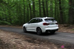 Photo essai BMW X3 hybride rechargeable 2020 plug-in hybrid