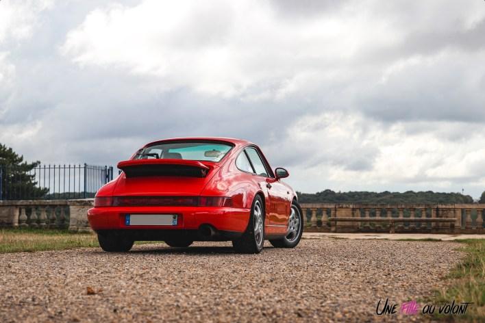 Photo arrire Porsche 911 964 Traversee de Paris 2020